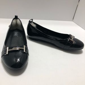 Ugg Patent Leather Horse bit Ballet Flats